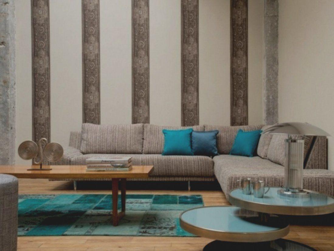 Wohnzimmer Tapeten Ideen Modern | Haus Design Ideen