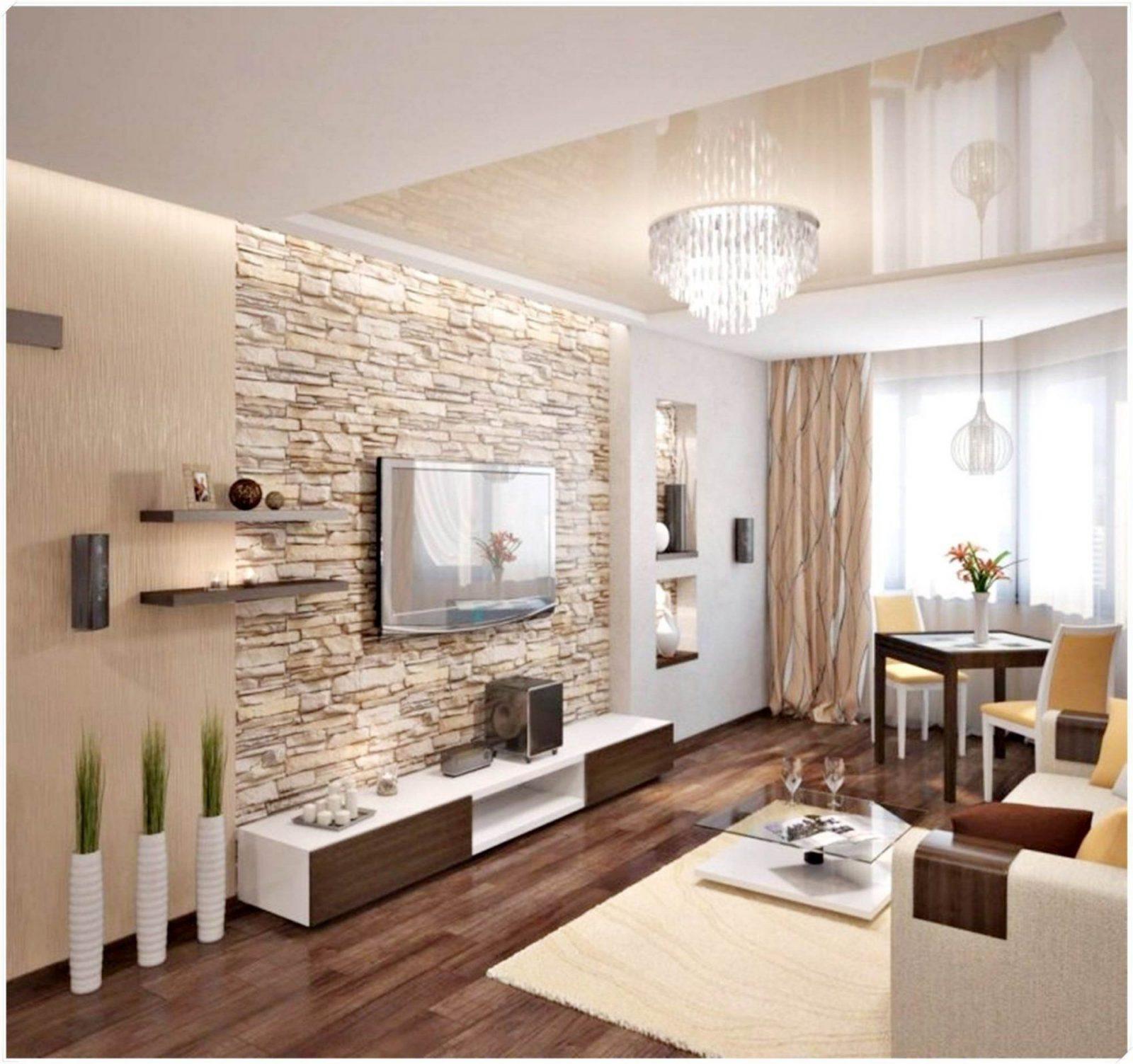 Wohnzimmer Wandgestaltung Tapete C Aseartsf von Wandgestaltung Mit ...