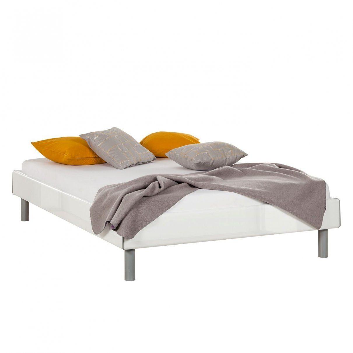 Wunderbar Bett Weiss Holz Weis 180X200 Ohne Kopfteil 120X200 von Bett Weiß Ohne Kopfteil Bild