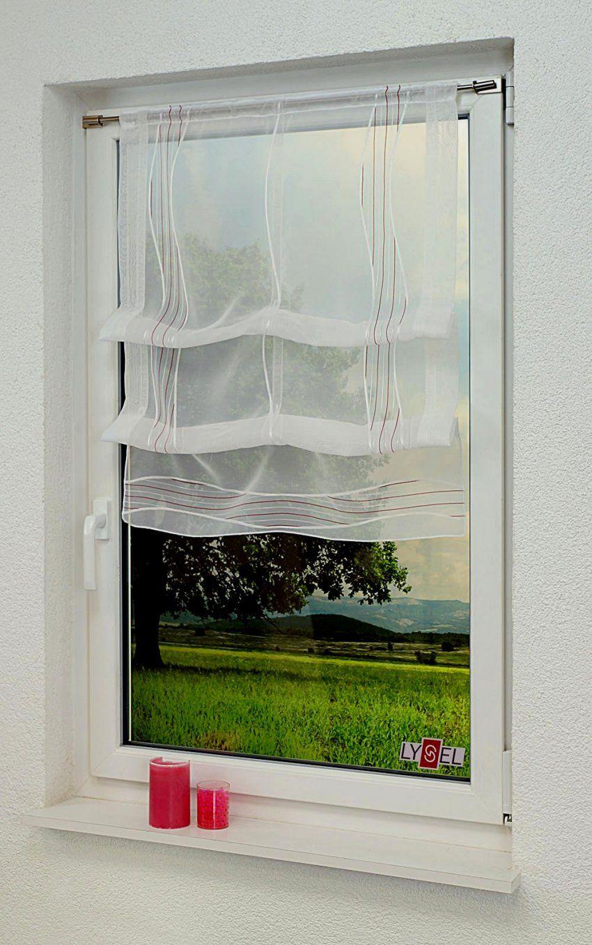 Wunderbar Raffrollo 70 Cm Breit Architektur Hausdesign Raffgardine von Raffrollos 70 Cm Breit Bild