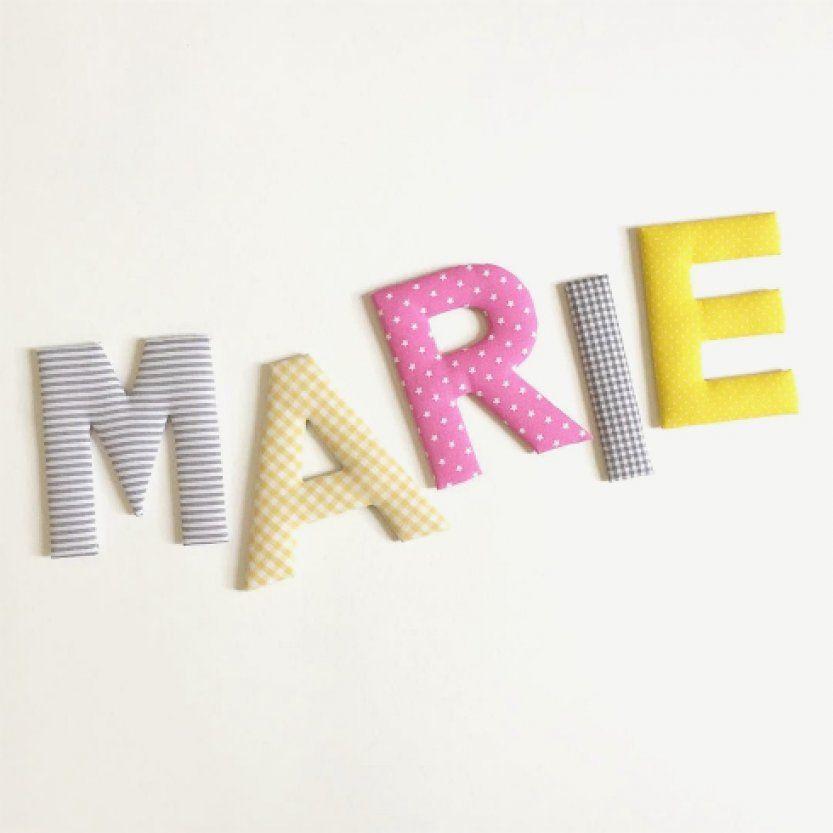 Wunderbare Buchstaben Kinderzimmer Selber Machen Oder Buchstaben Für ...