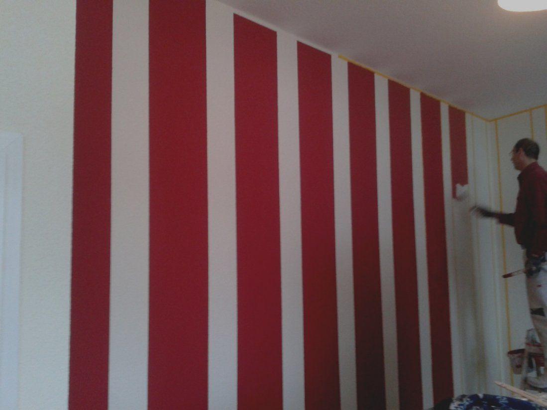 Wunderbare Wandgestaltung Streifen Wohnzimmer Wand Pinterest von Streifen An Der Wand Bild