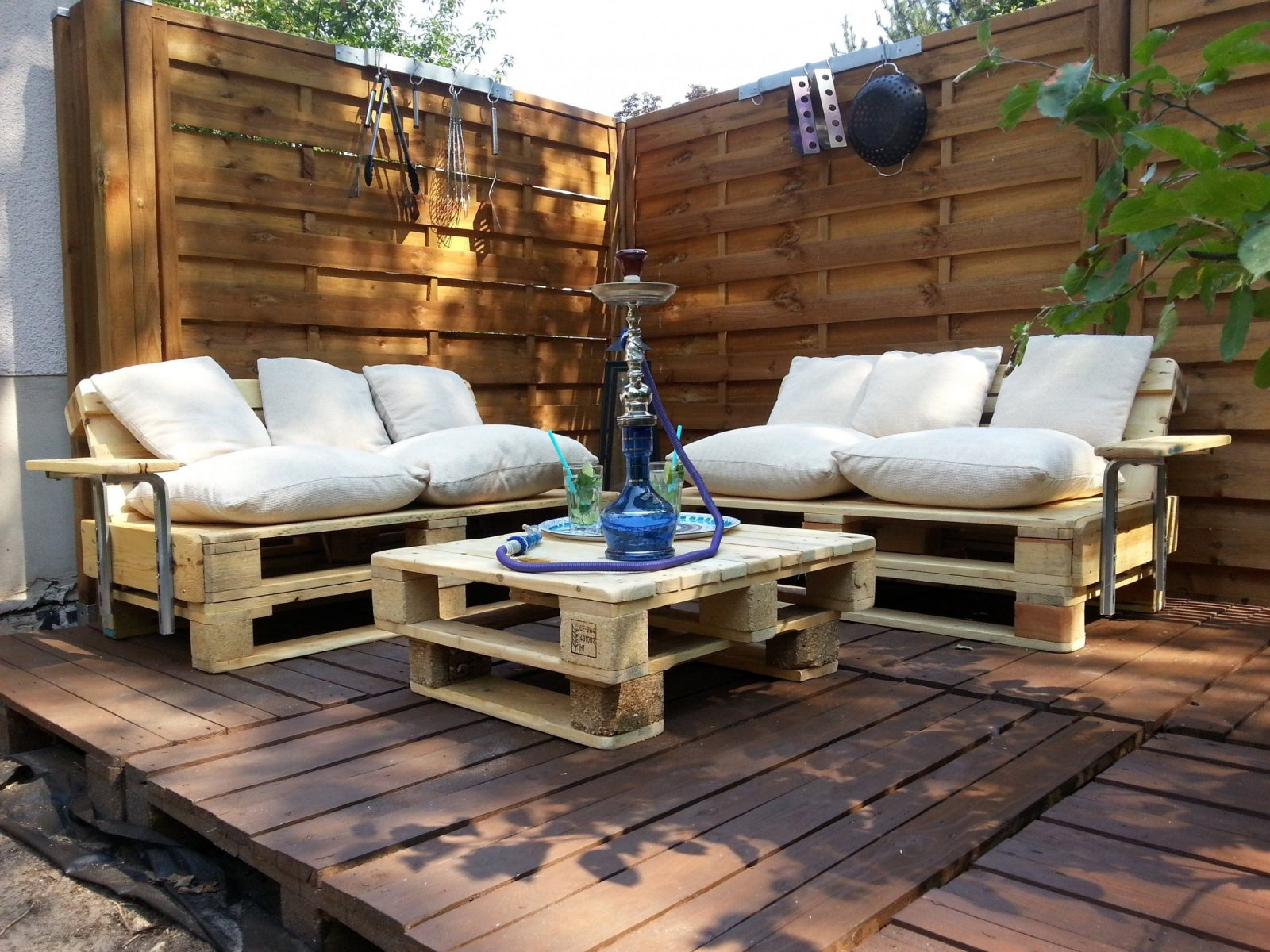 Wunderschöne Gartenlounge Selber Bauen Lounge Ecke Garten Selber von Lounge Ecke Selber Bauen Bild
