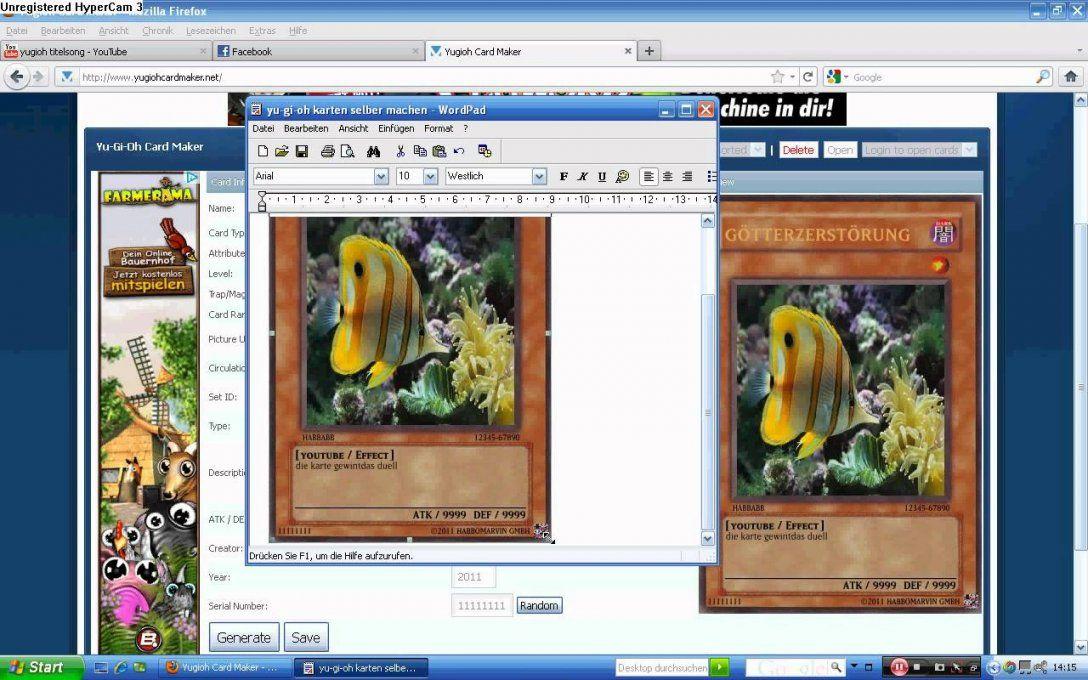 Yugioh Karten Selbermachen  Youtube von Yugioh Karten Selber Machen Bild