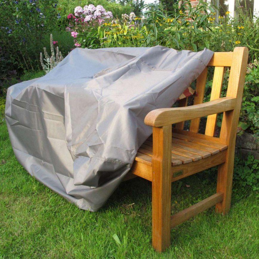 Zeitgenössisch Gartenbank Abdeckung Gartenmöbel Schutzhülle In Taupe von Gartenbank Abdeckung 180 Cm Bild