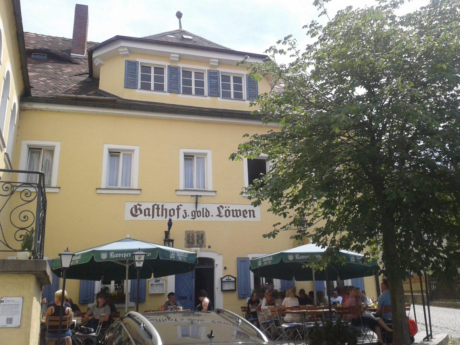 Zum Goldenen Löwen In Dörflas  Bavaritas von Brauereigasthof Goldener Löwe Bayreuth Photo