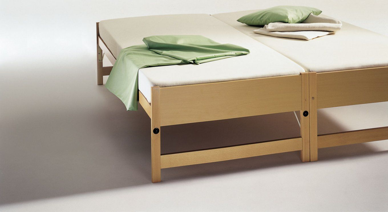 Zwei Betten Gleicher Größe  Unser Ausziehbett On Top von Ausziehbares Bett Gleiche Höhe Bild