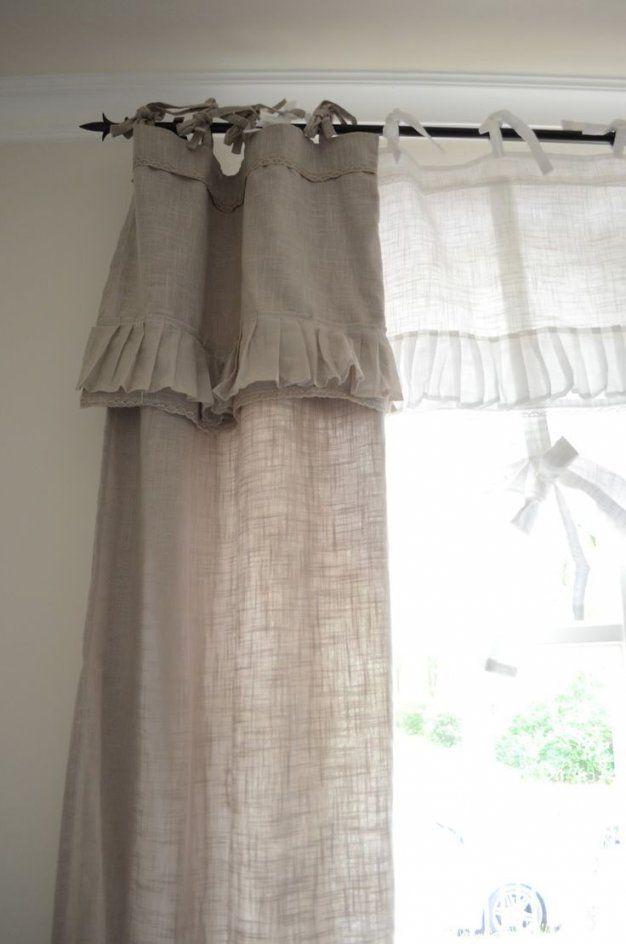 149 Besten Gardinen Bilder Auf Pinterest  Fenster Gardinen Und von Gardinen Im Landhausstil Selber Nähen Bild