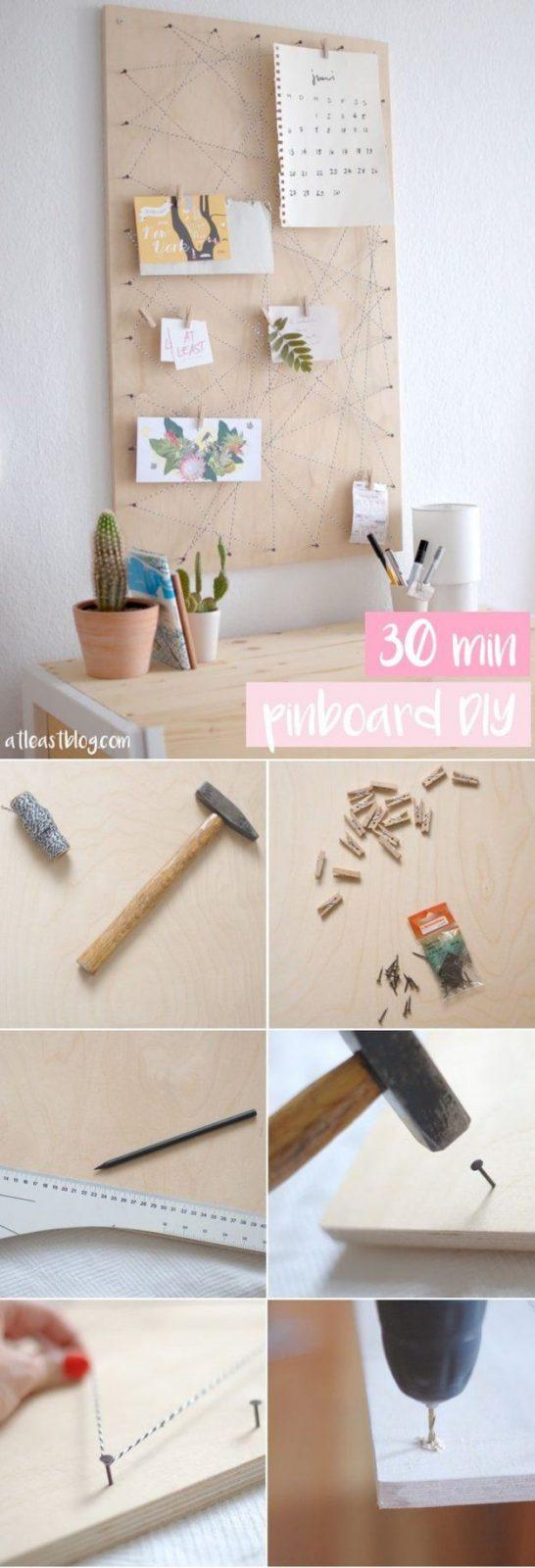 17 Besten Memoboard Bilder Auf Pinterest  Bastelei Wohnideen Und von Günstige Wohnideen Zum Selber Machen Photo