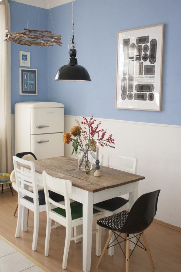 17 Besten Vintage Tisch Bilder Auf Pinterest  Vintage Tisch Küchen von Esstisch Für Kleine Wohnung Bild