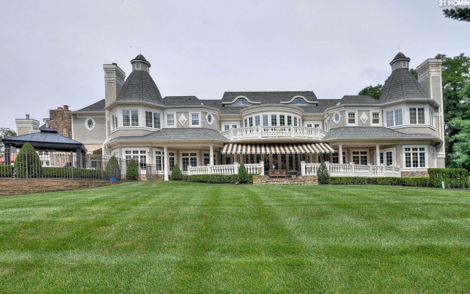 18000 Square Foot French Inspired Mansion In Colts Neck Nj  Homes von Colts Neck Nj Mansion Bild