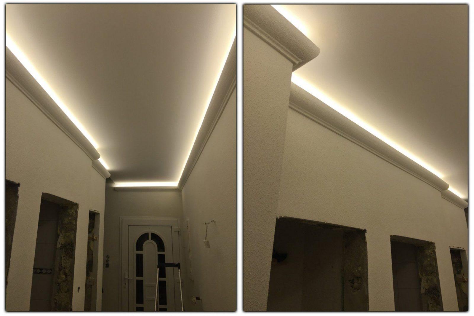 2 Meter Led Profil Pu Stuckleiste Für Indirekte Beleuchtung von Stuckleiste Für Indirekte Beleuchtung Photo