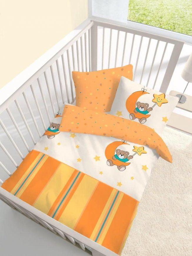 2 Tlg Kinder Baby Bettwäsche 100X135 Cm Bärchen  Real von Bettwäsche 100X135 Biber Bild