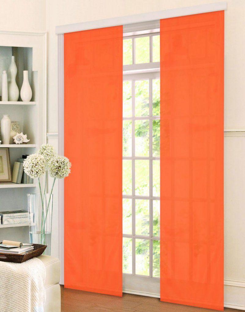 2 Vorhnge Schals Gardinen Orange Mediterran Fabulous 2 Vorhnge von 2 Vorhänge Schals Gardinen Orange Mediterran Bild