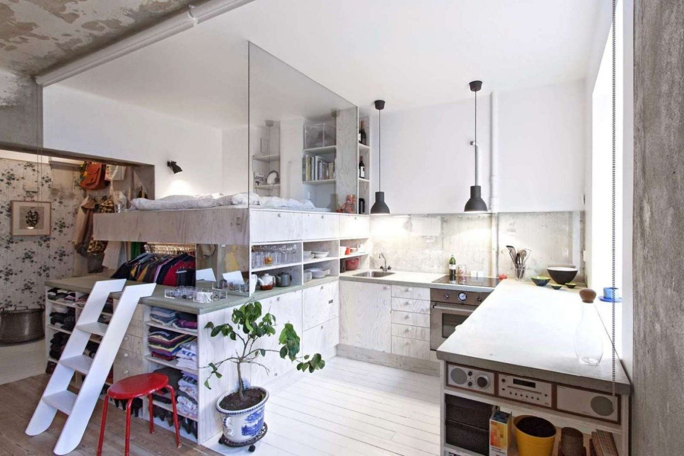 20 Qm Wohnzimmer Einrichten Home Ideen Von 40 Qm Wohnung Einrichten Bild