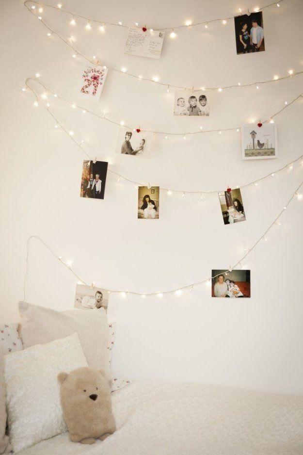 20 Tolle Dekoideen Mit Lichterketten … Die Nummer 17 Muss Ich von Lichterketten Deko Ideen Schlafzimmer Photo