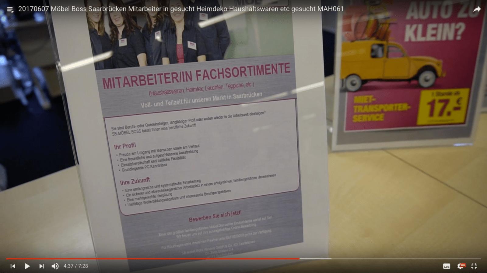 20170607 Möbel Boss Saarbrücken Mitarbeiter In Gesucht Heimdeko von Sb Möbel Boss Saarbrücken Bild