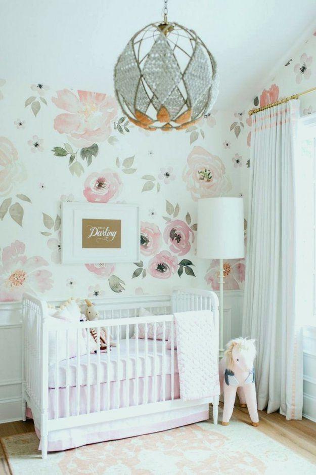 24 Elegant Babyzimmer Tapete Mädchen  Inneneinrichtung Galerie von Tapeten Für Kinderzimmer Mädchen Photo