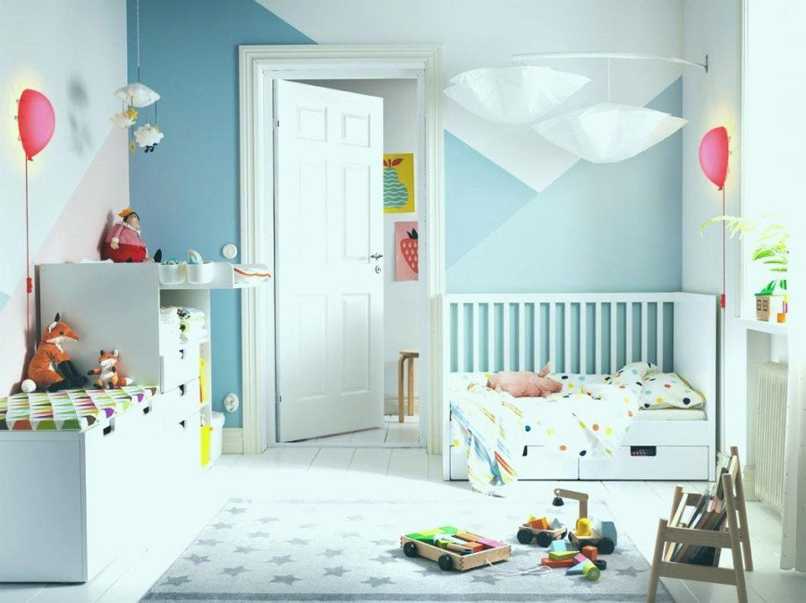 kleines kinderzimmer einrichten ikea haus design ideen. Black Bedroom Furniture Sets. Home Design Ideas