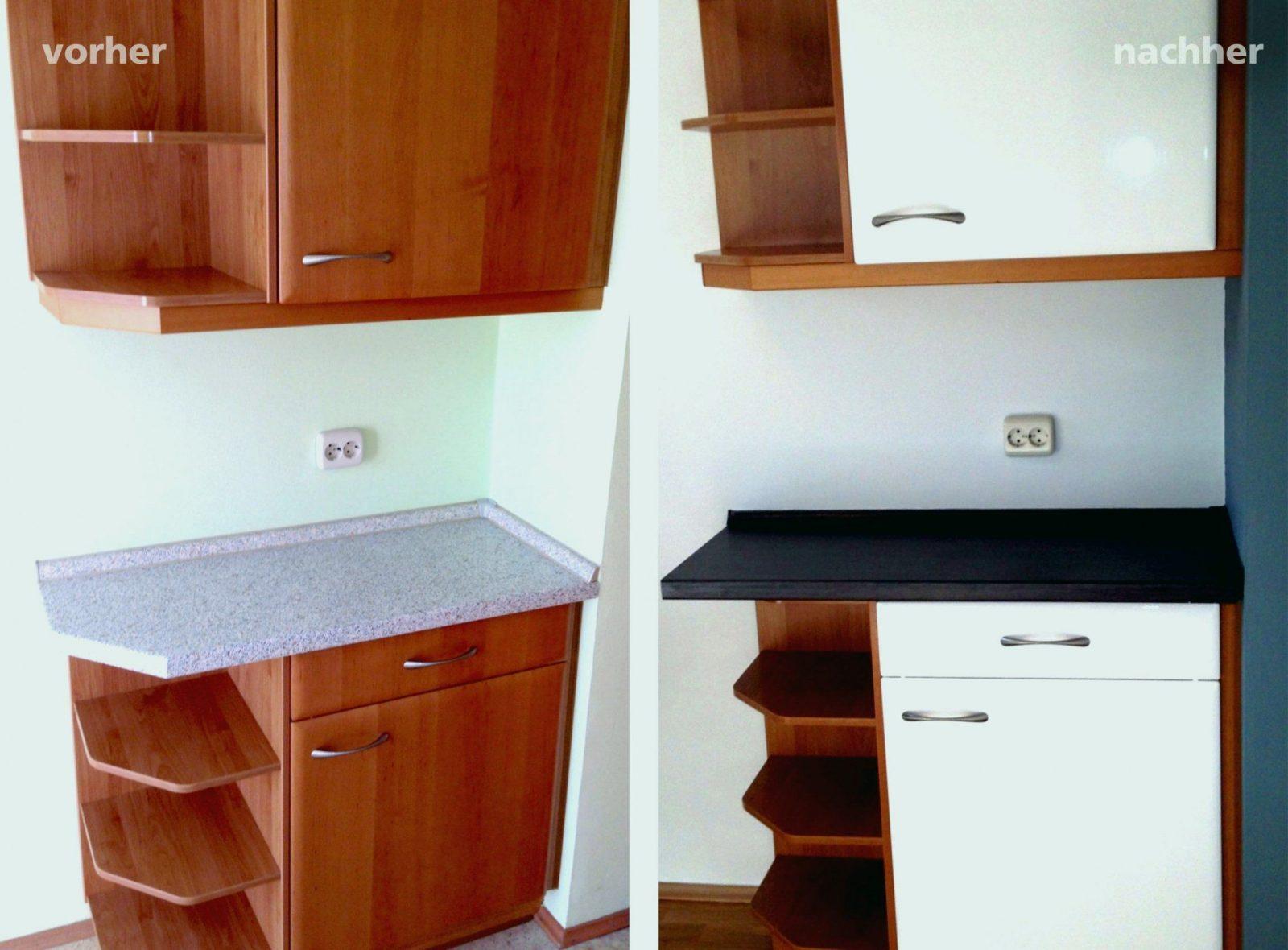 28 Elegant Küche Lackieren Vorher Nachher  Die Besten Hausideen von Küchenfronten Lackieren Vorher Nachher Photo