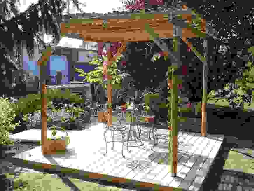 30 Beste Pergola Bausatz Holz Hornbach Konzept  Garten Designideen von Pergola Bausatz Freistehend Holz Bild