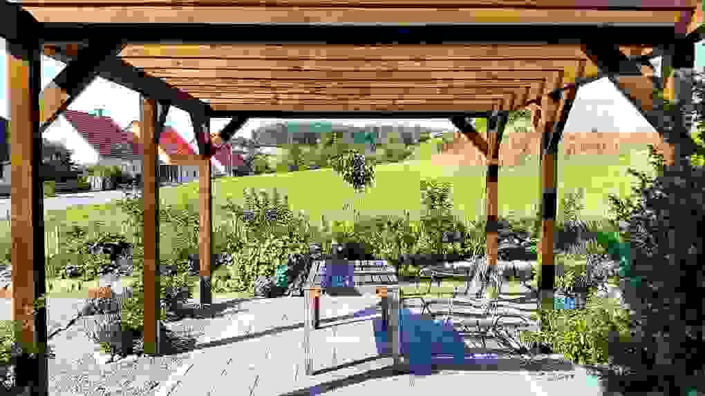 30 Das Beste Pergola Bausatz Holz Hornbach Konzept  Haus Und Garten von Pergola Bausatz Freistehend Holz Bild