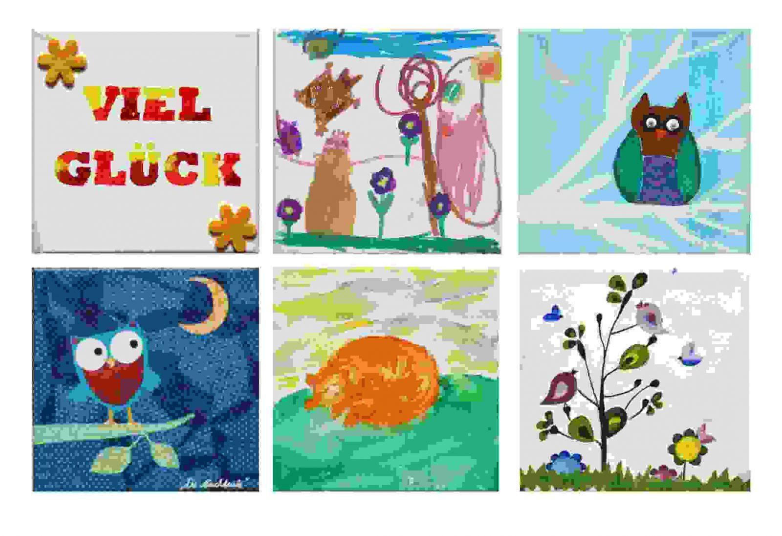 30 Oberteil Von Leinwand Gestalten Mit Kindern Konzept  Moderne von Bilder Gestalten Mit Kindern Bild