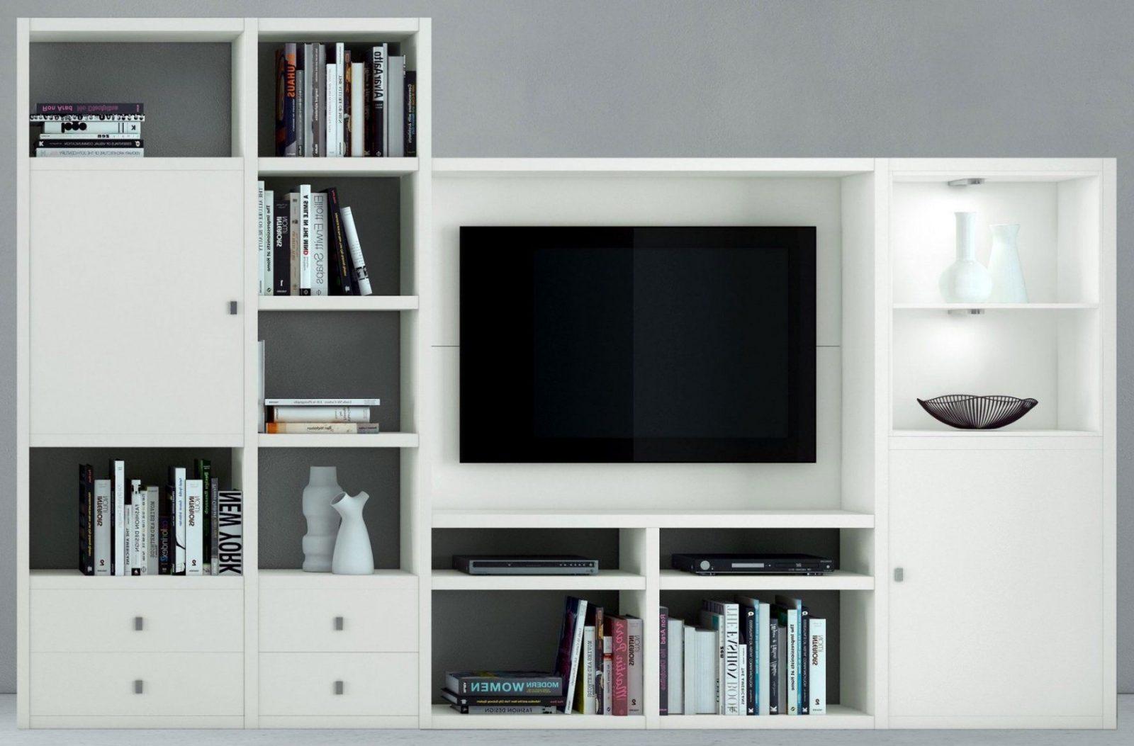 raumteiler mit tv fach haus design ideen