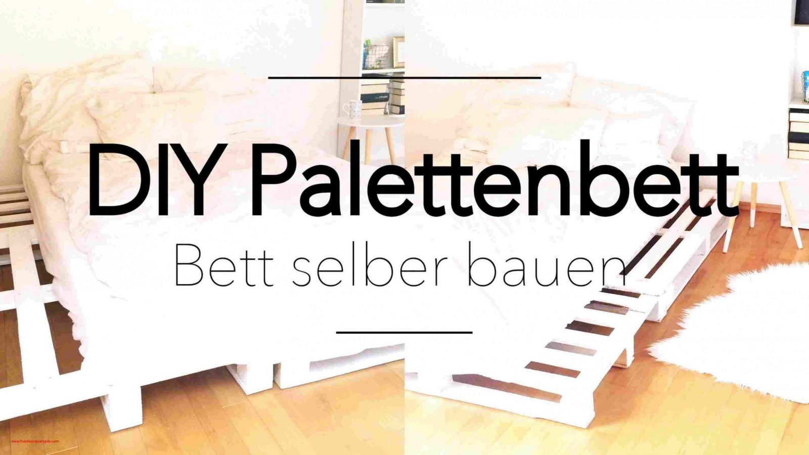 32 Neu Bett Aus Europaletten Mit Lattenrost Anleitung Bilder  Dekor von Podest Bett Aus Paletten Photo