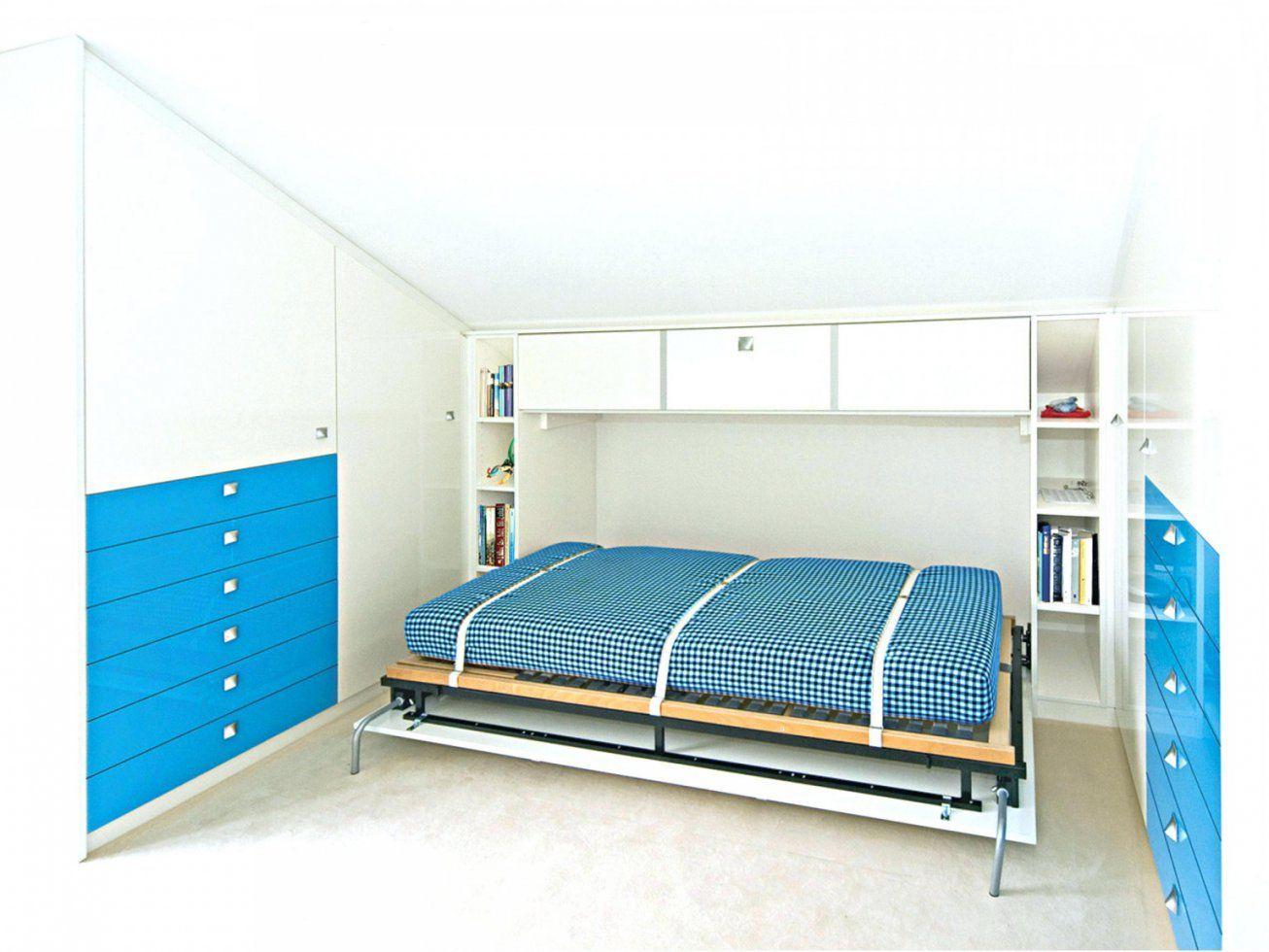 Klappbetten im schrank fabulous jugendbett mit und in - Wohnwand mit klappbett ...