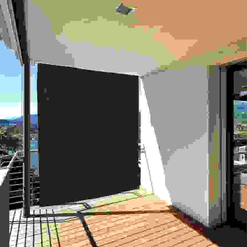 Plexiglas Sichtschutz Balkon Windschutz Plexiglas Latest With Von