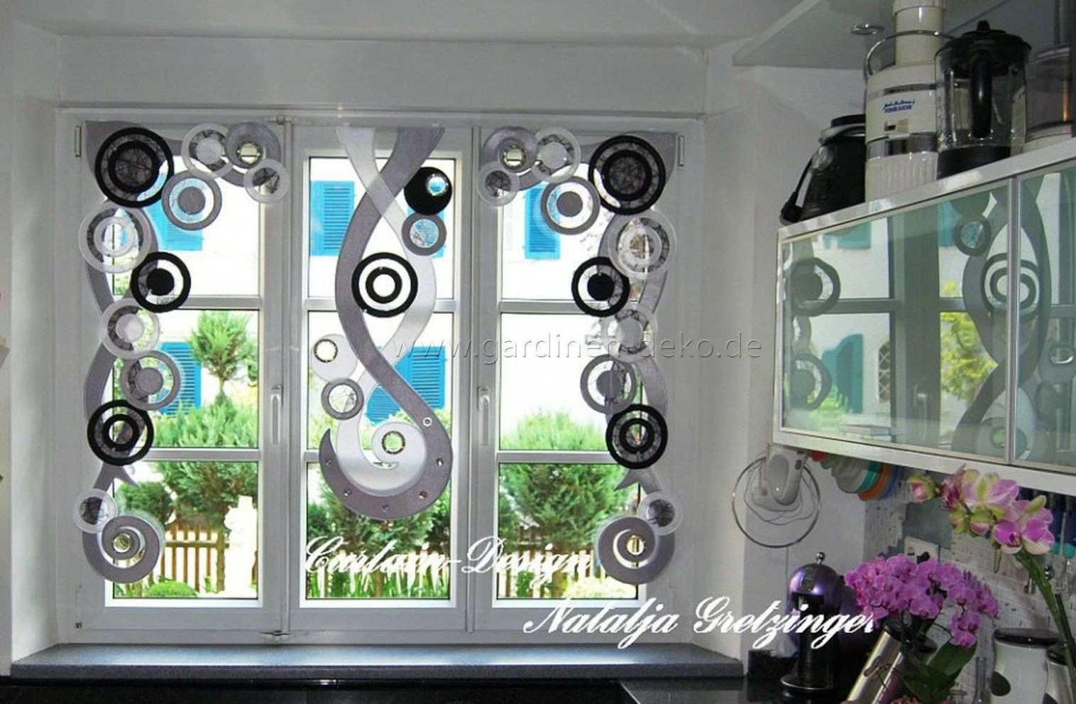 36 kollektion k chenfenster gardinen modern bilder dekor for Gardinen fur kuche