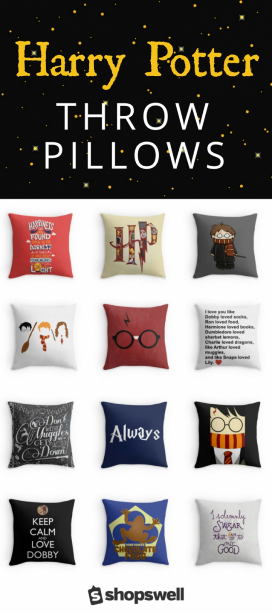 36 Of The Best Harry Potter Throw Pillows Harry Potter Throw Von von The Vampire Diaries Bettwäsche Bild