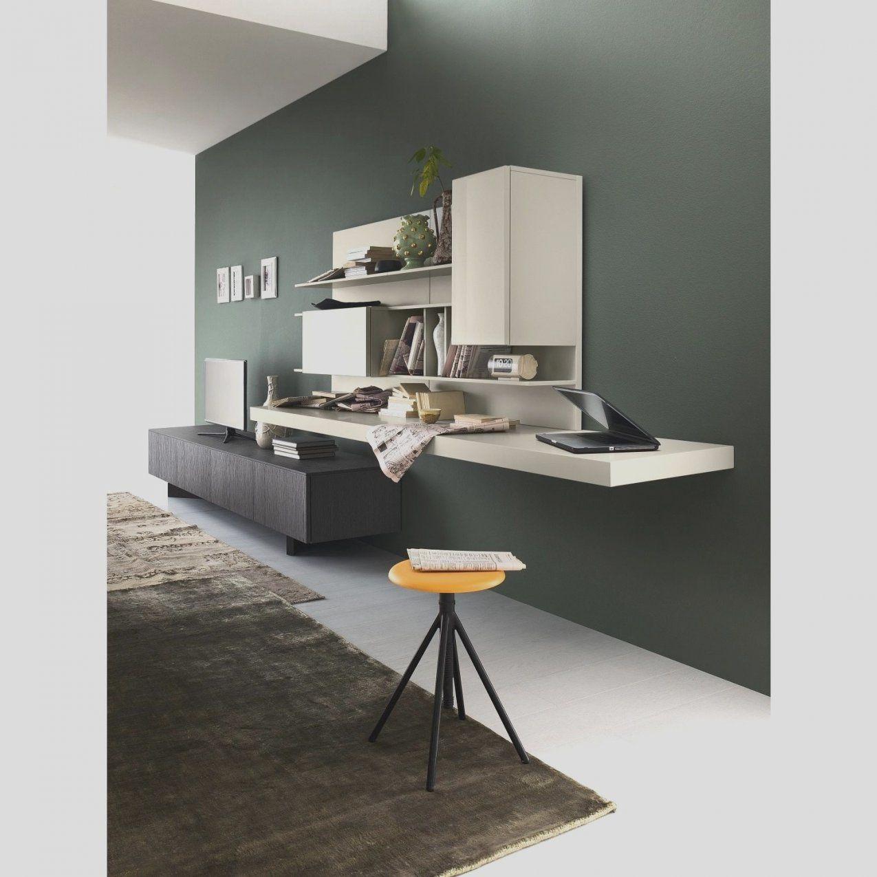 38 Schreibtisch Für Wohnzimmer  Haus Ideen von Schrankwand Mit Integriertem Schreibtisch Photo