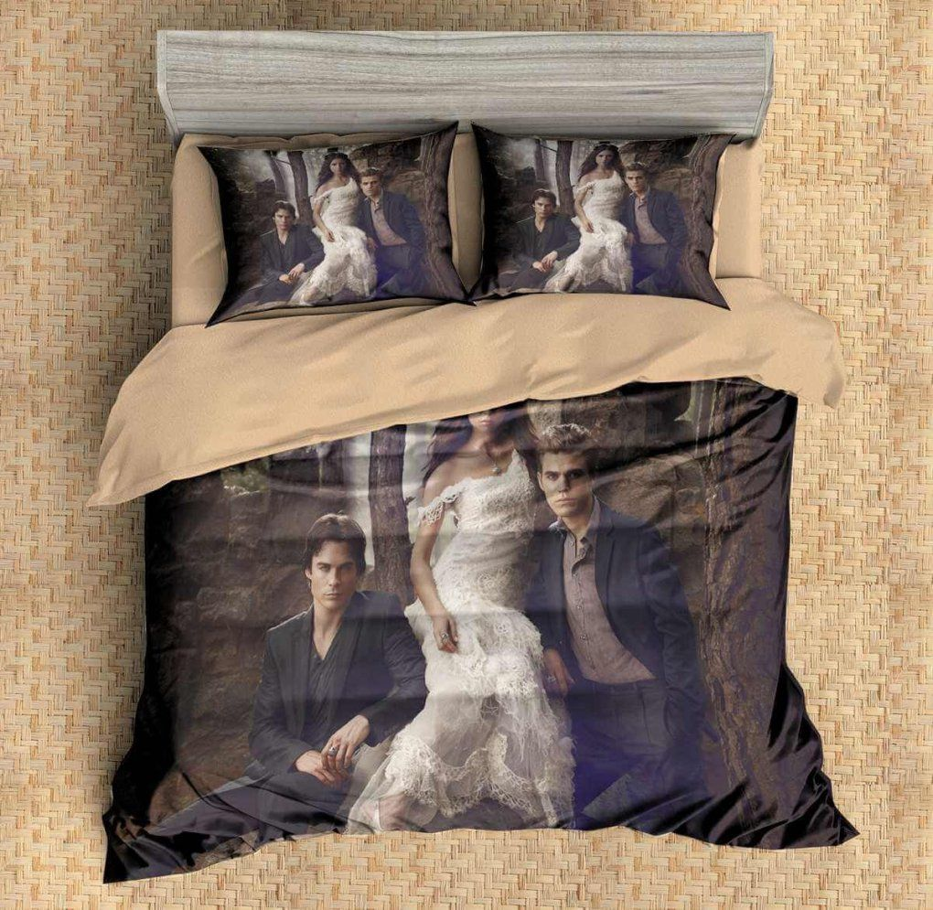 3D Customize The Vampire Diaries Bedding Set Duvet Cover Set Bedroom von Vampire Diaries Bettwäsche Photo