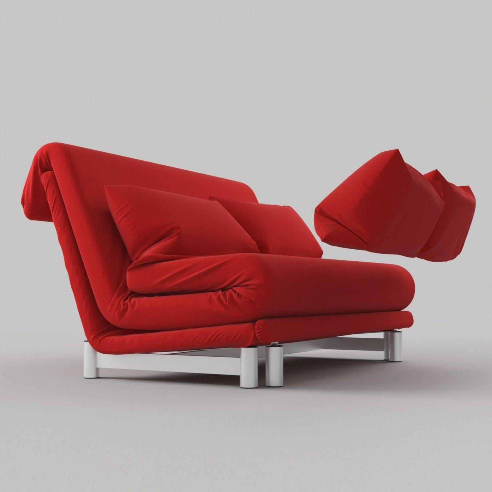 3D Model Modern Sofa Bedligne Roset  Cgtrader von Ligne Roset Schlafsofa Multy Bild