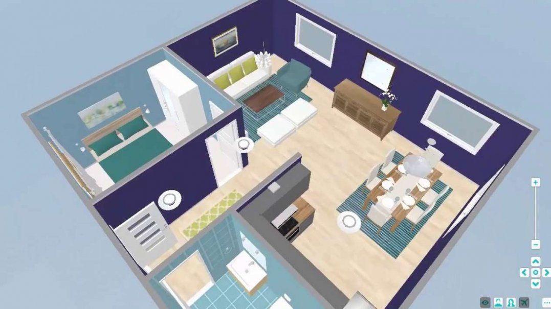 3D Planer Wohnung  Home Ideen von Schöner Wohnen Raumplaner Kostenlos Bild