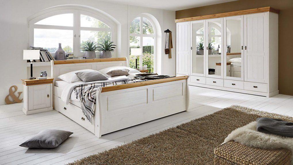 3S Frankenmöbel Schlafzimmer Im Nordischen Landhausstil Mit von Schlafzimmer Komplett Weiß Landhaus Photo