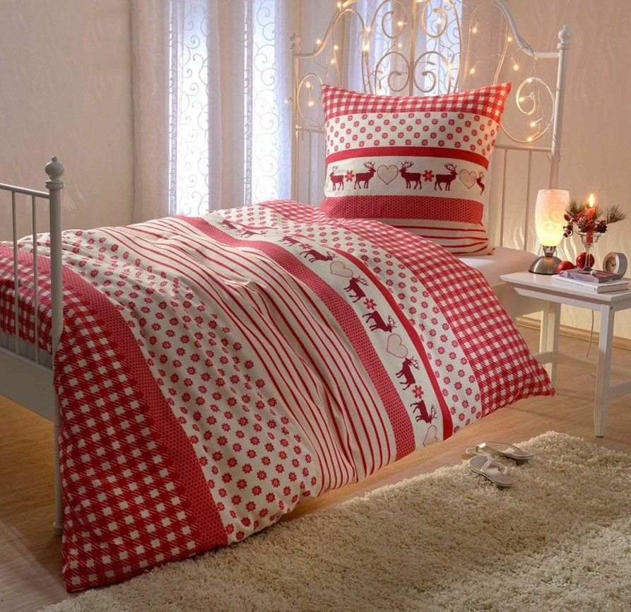 40 Euro Biber Bettwäsche Rentier Online Kaufen  Christmas Bedding von Bettwäsche Weihnachten Biber Photo
