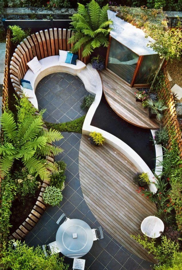 41 Ideen Für Kleinen Garten  Die Gestaltung Bei Wenig Platz von Kleine Gärten Gestalten Bilder Bild