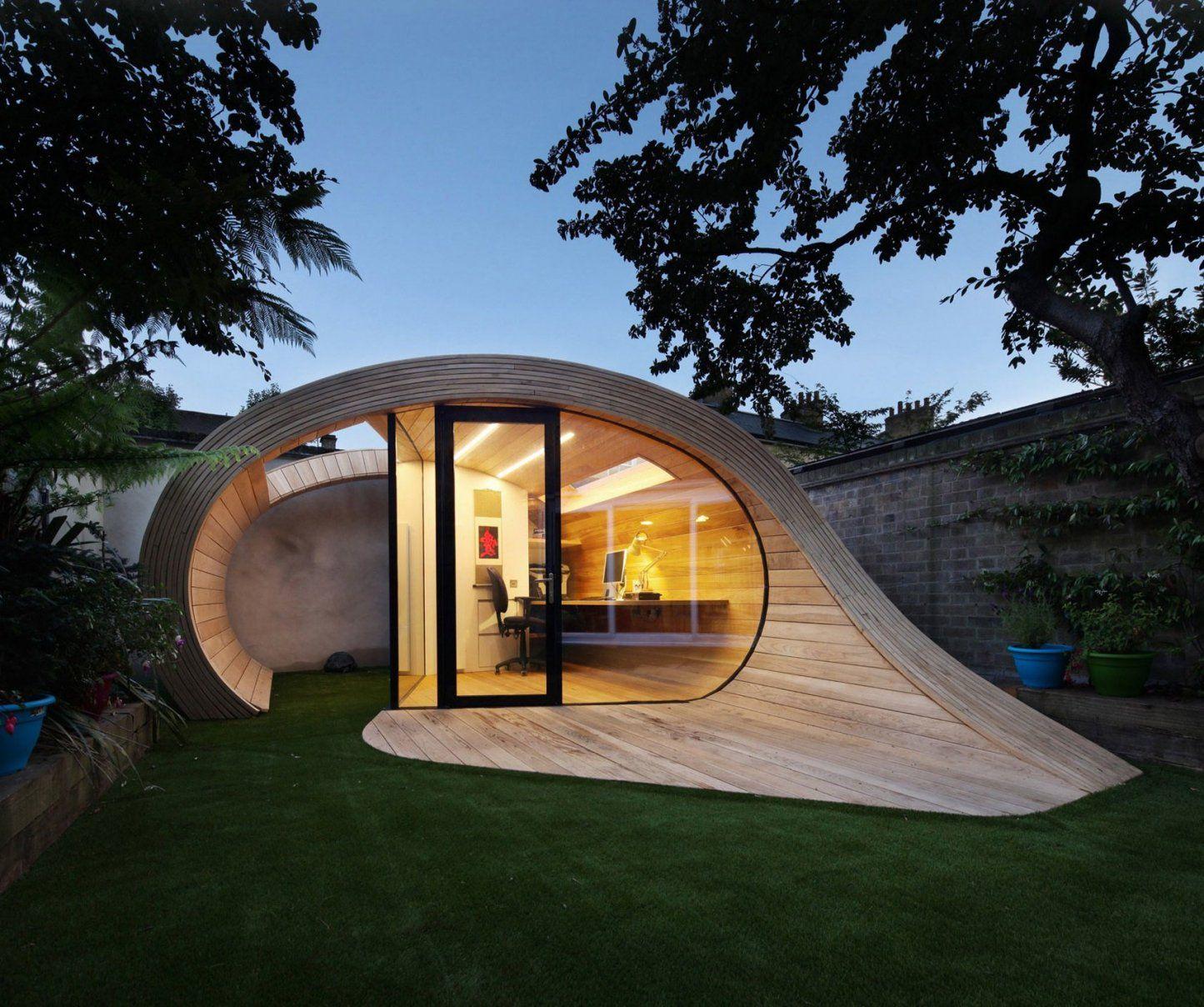 44 Atemberaubende Gartenhütten Bauen Und Einrichten  Architektur von Atemberaubende Ideen Für Den Garten Bild