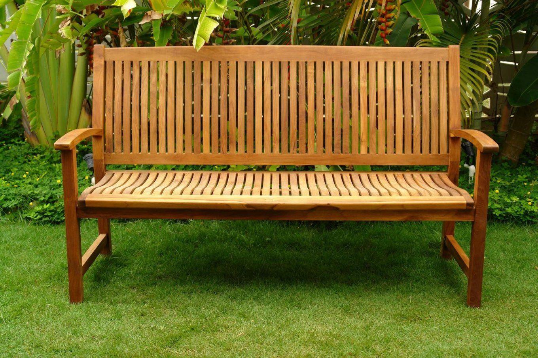 4Sitzer Teak Gartenmöbel Anmutig Gartenbank Art Nr Holz Gartenmöbel von Gartenbank Holz 4 Sitzer Bild