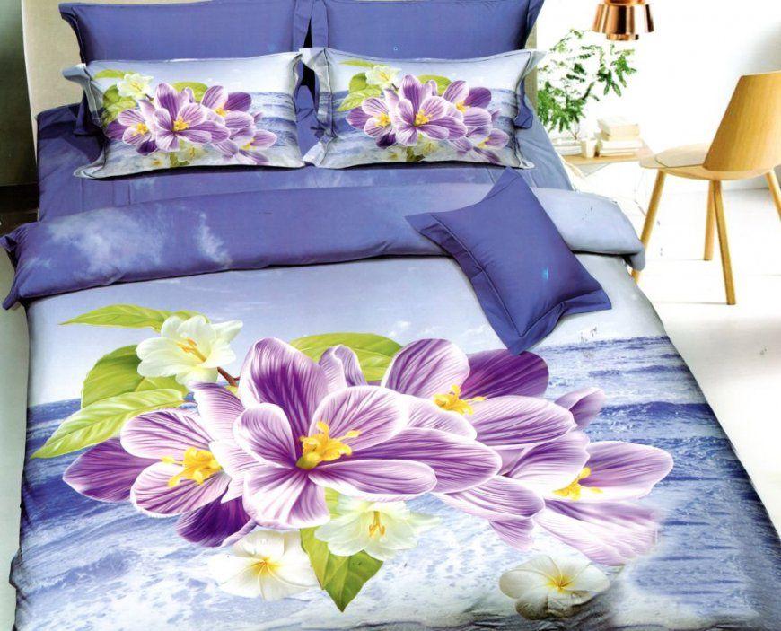 4Tlg3D Effekt Bettwäsche Bettbezug Bettgarnitur 155X200Cm Orchidee von Bettwäsche Orchideen Motiv Photo