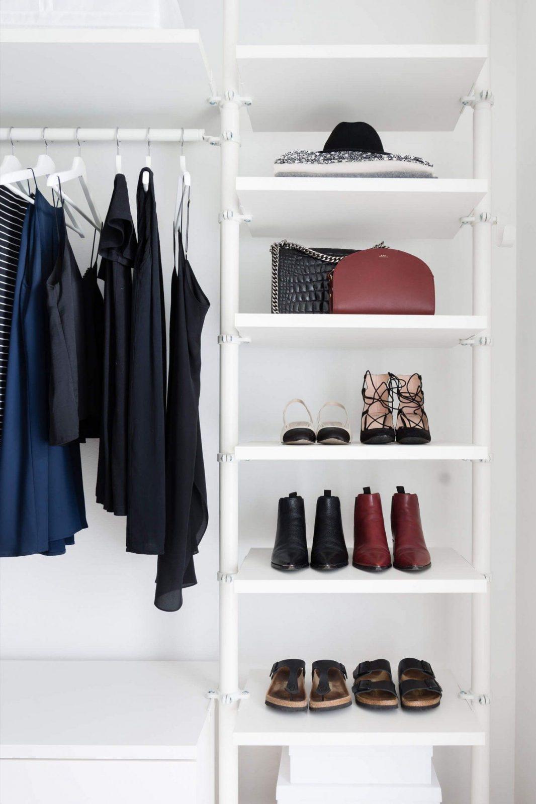 5 Pflegetipps Für Kleidung + Ankleidezimmer Update  Dressing Room von Begehbarer Kleiderschrank Ikea Stolmen Bild