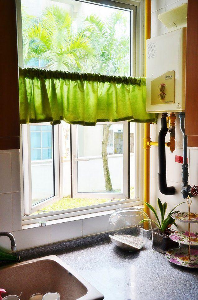 50 Fenstervorhänge Ideen Für Küche  Klassisch Und Modern von Gardinen Kurz Küche Bild