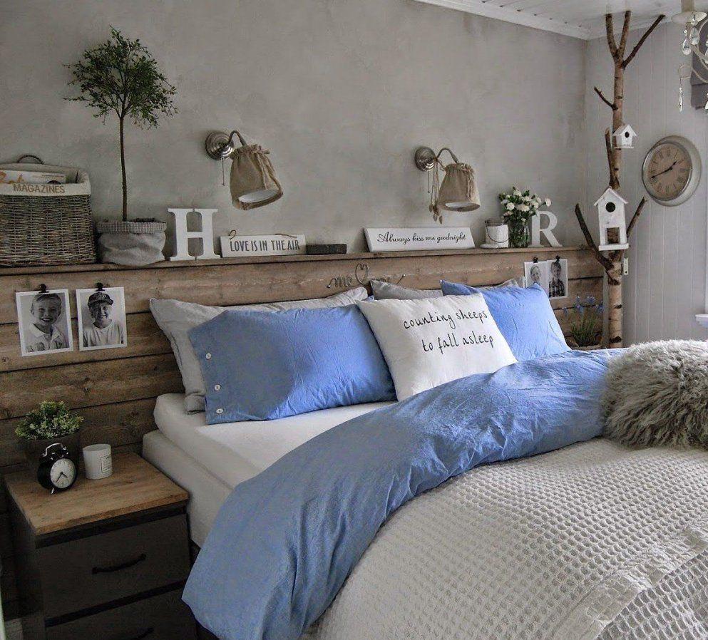 50 Schlafzimmer Ideen Für Bett Kopfteil Selber Machen  Fotografie von Bett Kopfteil Holz Selber Bauen Bild
