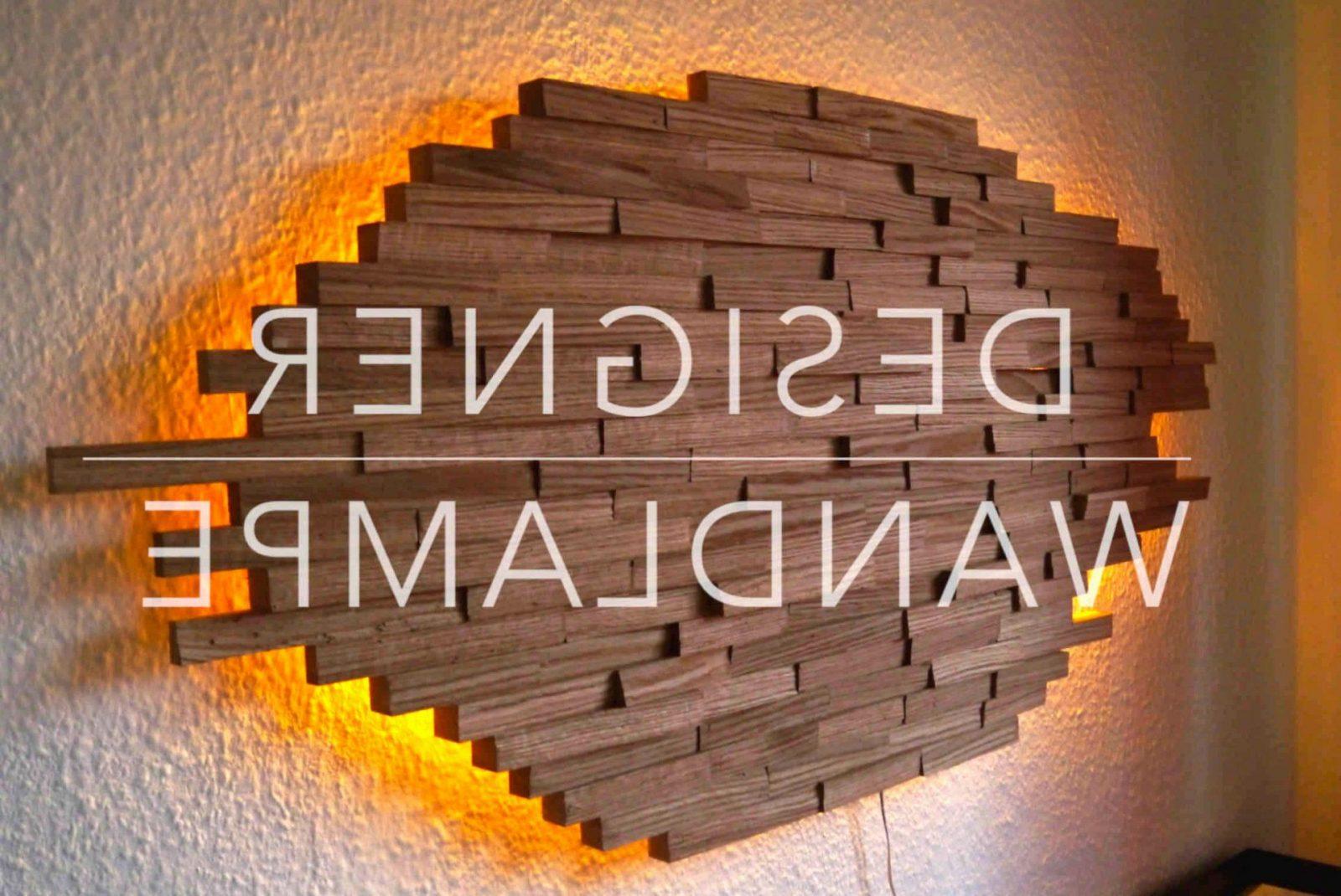 50 Schön Holz Wandleuchte Bilder  Alternabiocarbon von Wandleuchte Holz Selber Bauen Bild