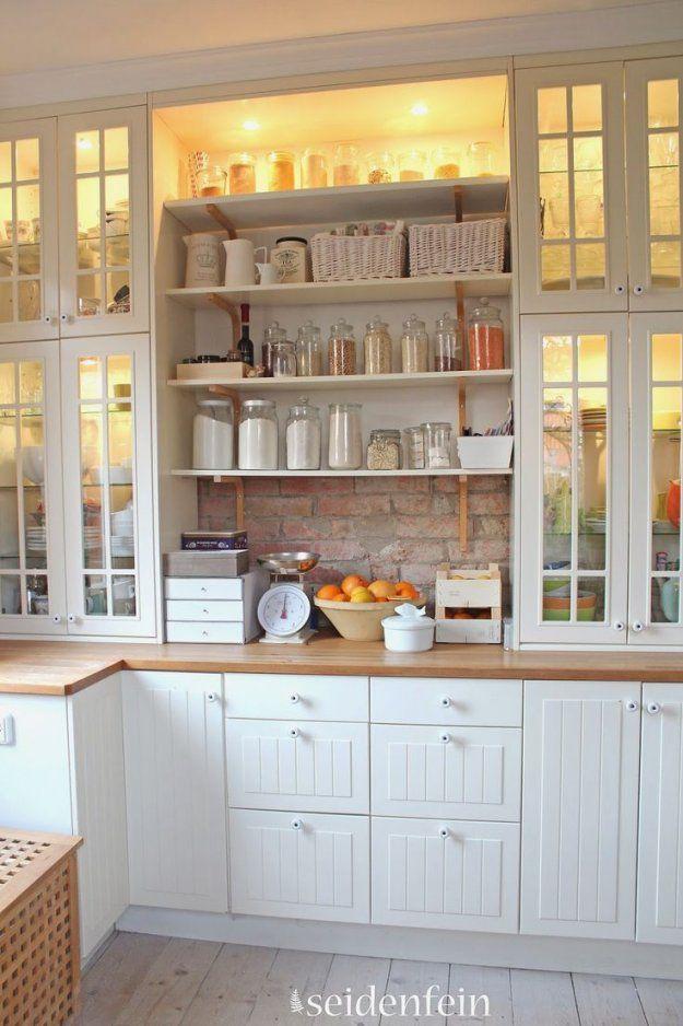 53 Best Landhausküchen Images On Pinterest  Kitchen Ideas Country von Küche Landhausstil Weiß Ikea Bild