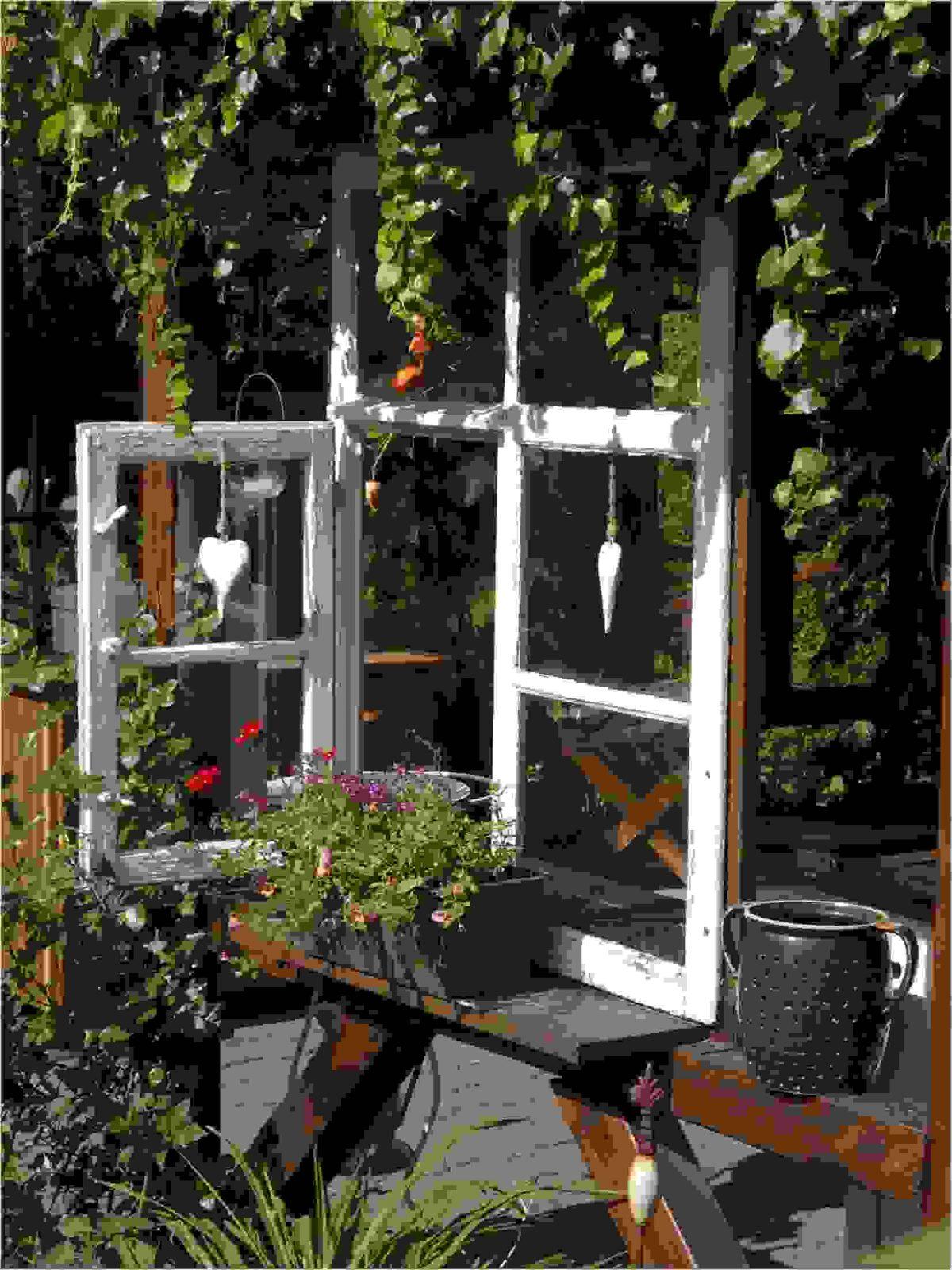55 Ideen Fur Gartendeko Aus Alten Fenstern Und Turen Ist Tolle Ideen