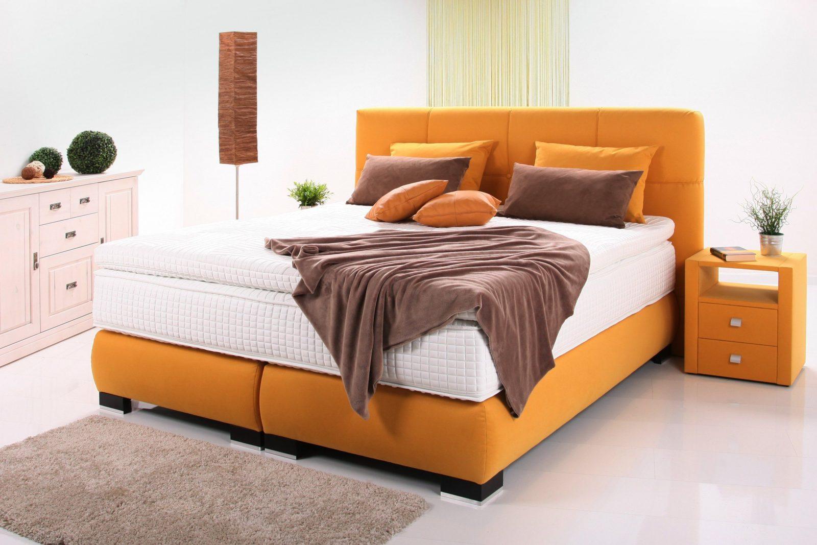 5Sterneluxusboxspringbett  Schlafen Wie Auf Wolke 7  Ihr Möbel von Breckle Boxspringbett Inkl. Topper Bild